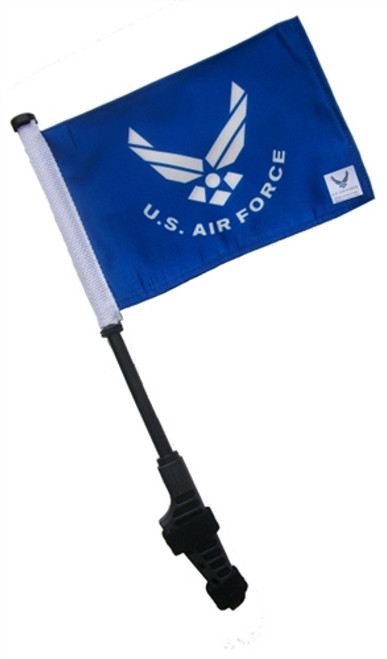 Ranger Small 6x9 inch Golf Cart Flag with EZ On/Off Pole