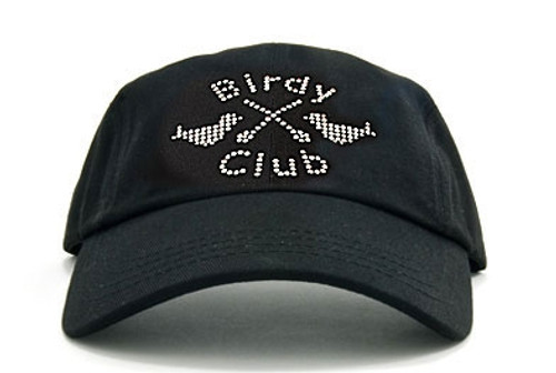 Birdy Club on Black Ladies Baseball Hat by Dolly Mama 482946980b0