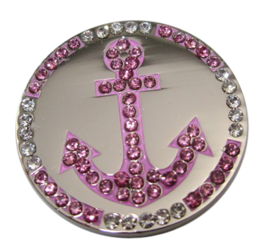 Abigale Lynn Ball Marker & Hat Clip - Anchor
