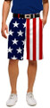 Loudmouth Golf Mens Shorts - Stars & Stripes
