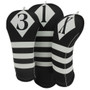 BeeJo's: Golf Headcover - Victor Collection Black and White