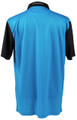 ReadyGOLF Naked Lady Golf Polo Shirt - Pole Dancer (Blue)