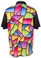ReadyGOLF Mens Golf Polo Shirt - Stained Glass