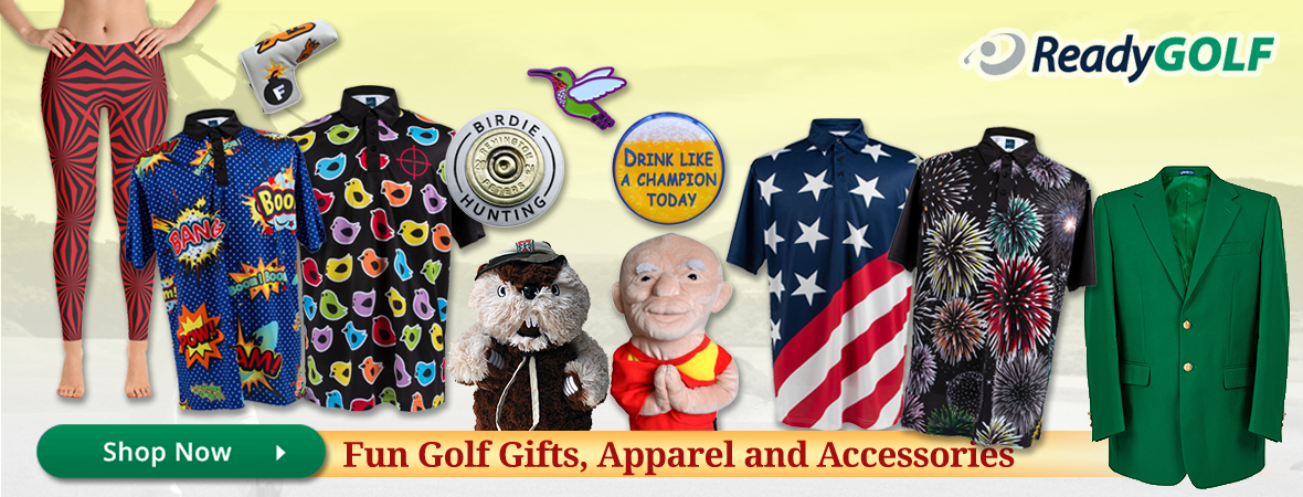 ReadyGOLF Brand Golf Gifts and Apparel