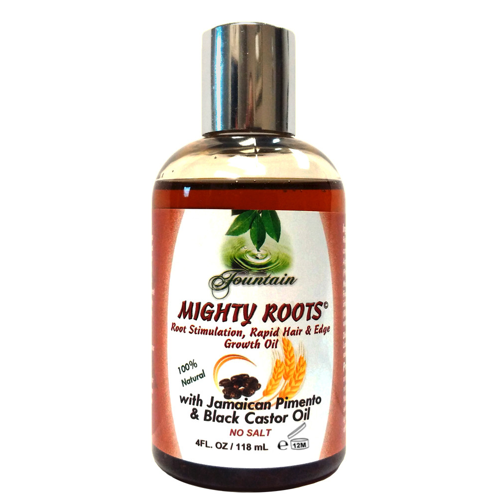 Fountain MIGHTY ROOTS with Jamaican Pimento Oil and Black Castor Oil 4 Oz