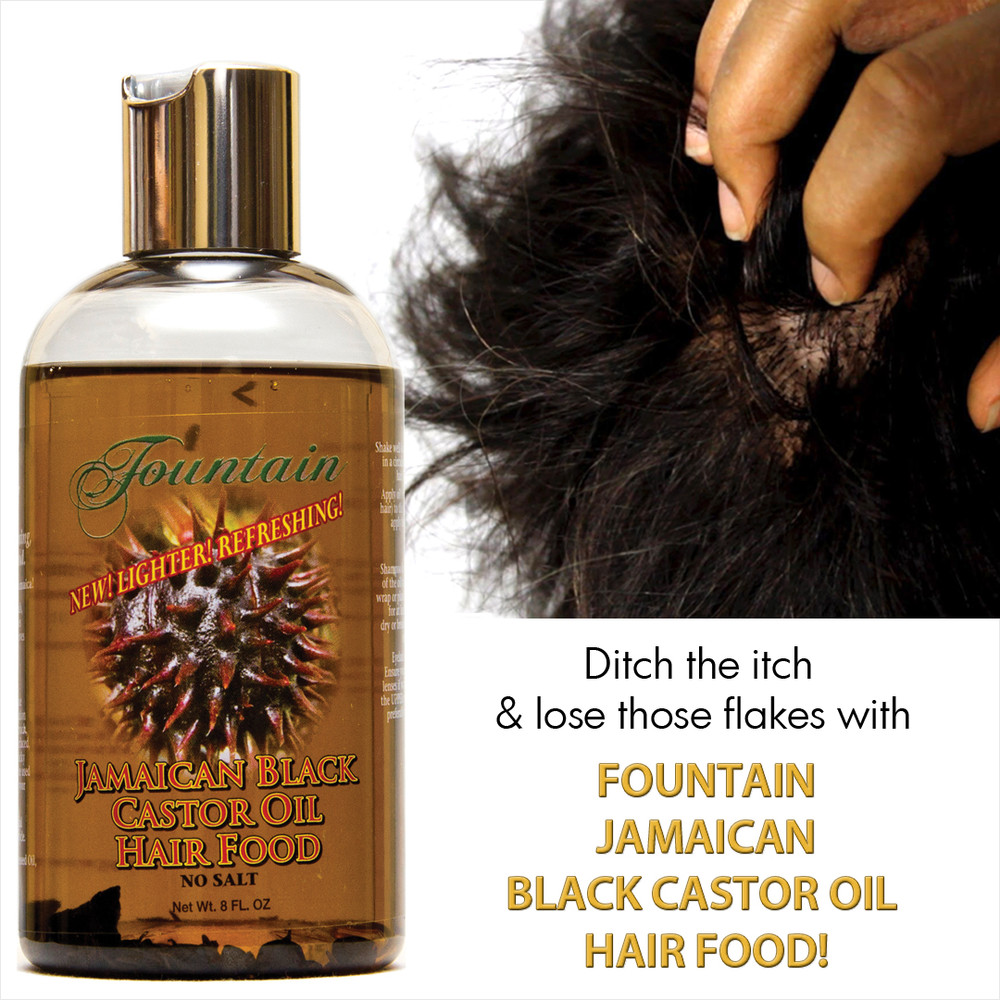 Jamaican Black Castor Oil Hair Food with Peppermint for Hair Loss and Dry Scalp