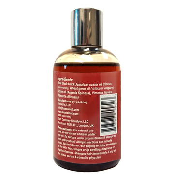 Fountain MIGHTY ROOTS with Jamaican Pimento Oil and Black Castor Oil 4 Oz - ingredients