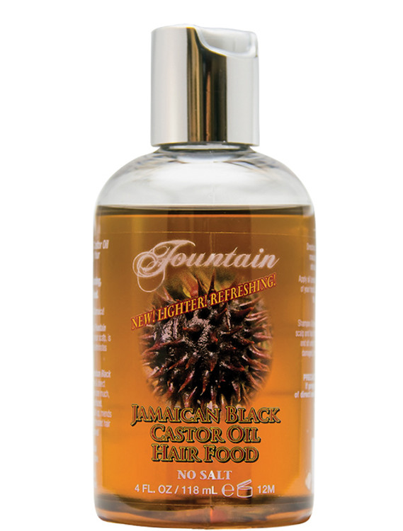 Fountain Jamaican Black Castor Oil Hair Food 4 Oz