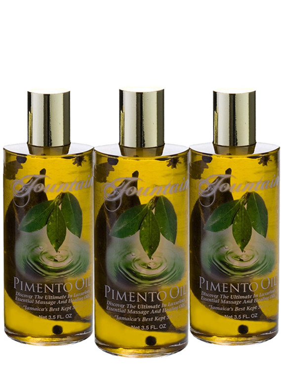 Fountain Pimento Oil 3.5 Oz 3-Pack