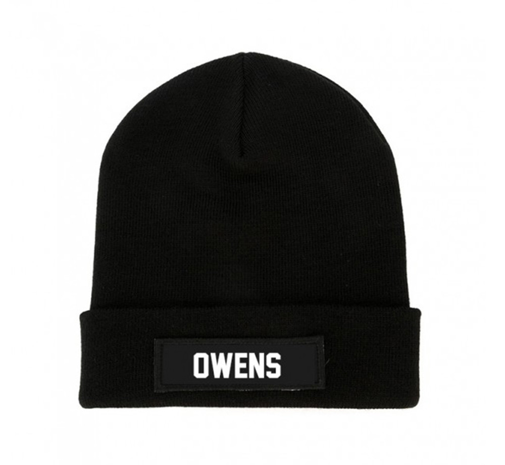 LES (ART)ISTS Black OWENS Beanie Patch