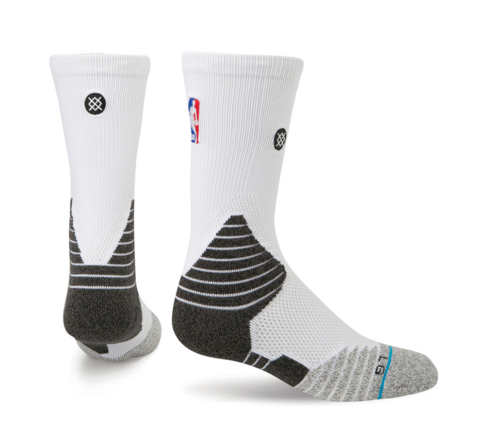 Stance Solid Crew White