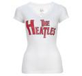 The Heatles Vintage White Hot V Neck - Women