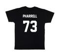 LES (ART)ISTS Black PHARRELL73 Football Tee