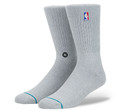 Stance NBA Logoman Crew Heather