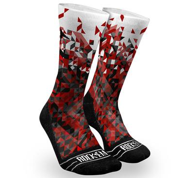 Rock 'Em 2.0 Fractal Dazzle Socks