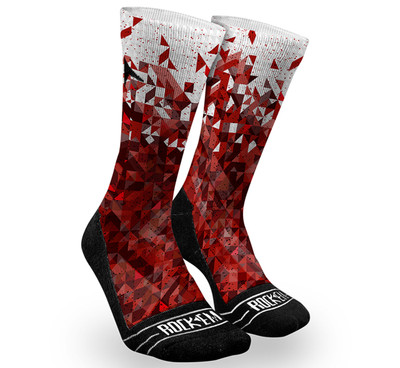 Rock 'Em 2.0 Fractal Dazzle 2 Socks