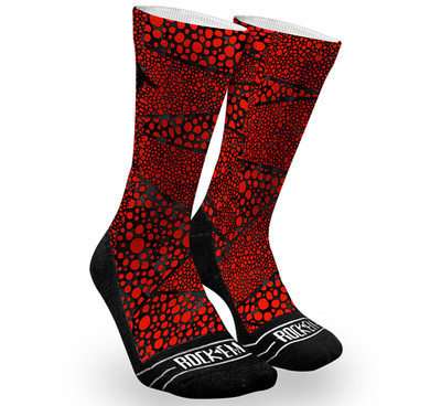 Rock 'Em StingRay Red Fractal