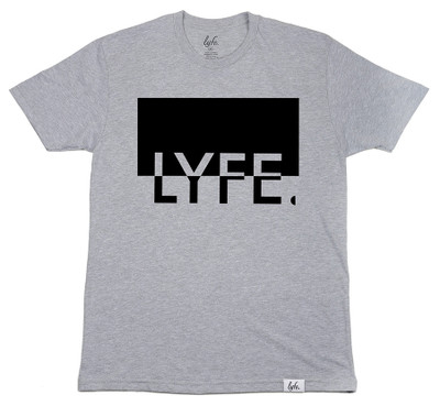 Split LYFE - Grey/Black