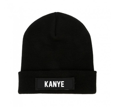 LES (ART)ISTS Black KANYE Beanie Patch