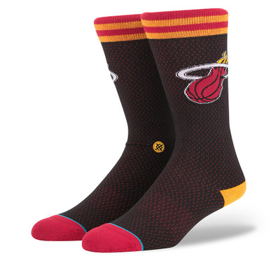 Stance NBA Heat Jersey Socks
