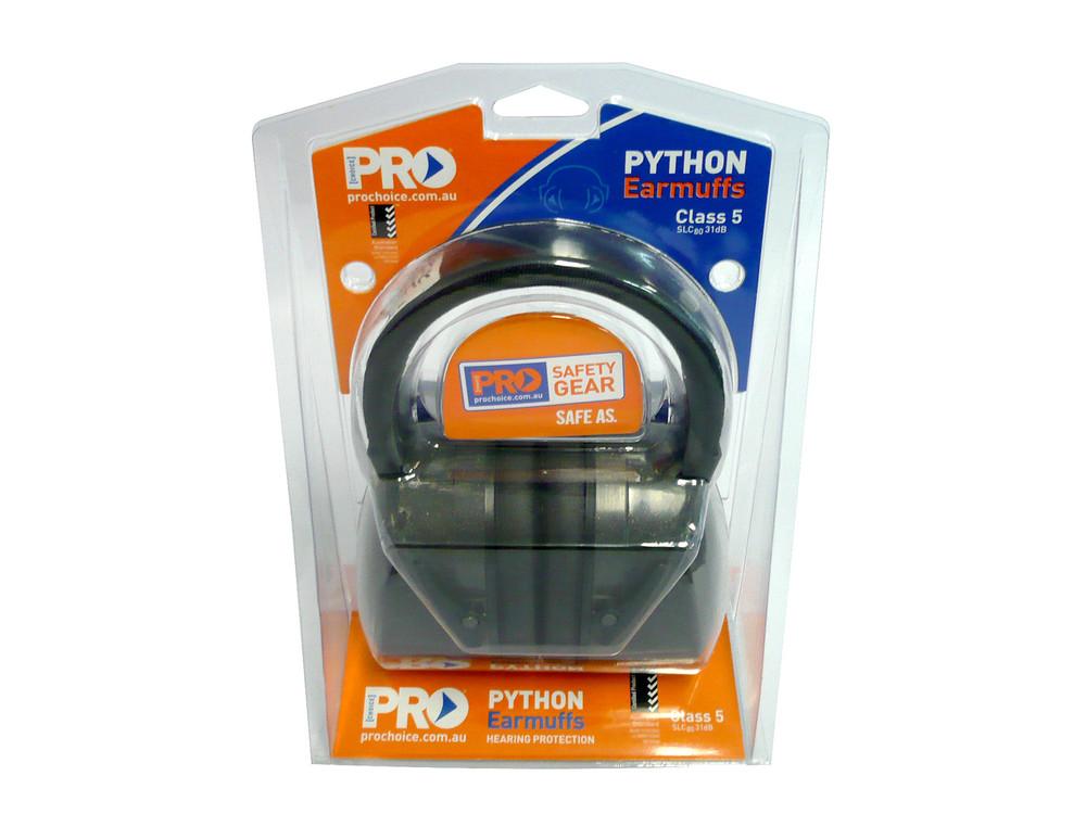 PYTHON Earmuffs Class 5 -31dB