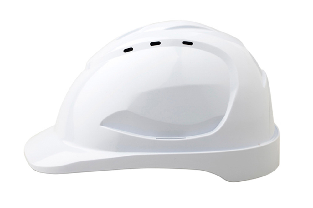 Hard Hat (V9) VENTED 6 Point PINLOCK Harness WHITE