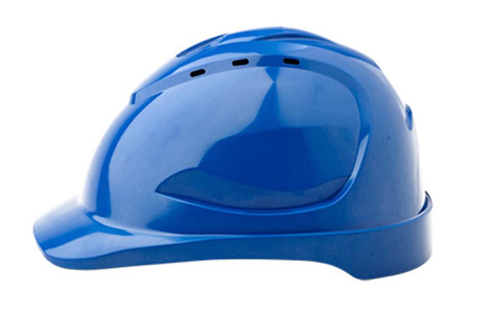 Hard Hat (V9) VENTED 6 Point PINLOCK Harness BLUE