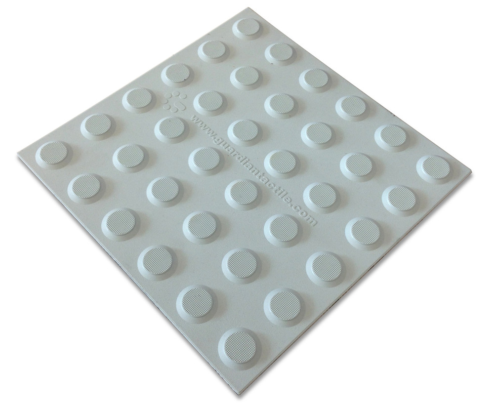 Tactile 300x300 Self Adhesive polyurethane LIGHT GREY (Colorado)