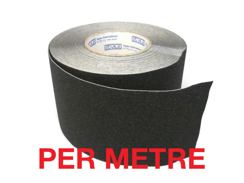 100mm Anti-Slip Tape BLACK - PER METRE