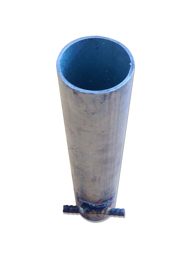 SLEEVE Galvanised 380mm - To take 60mm OD Post