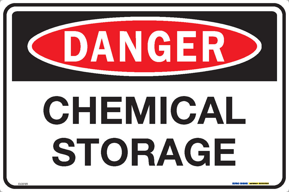 DANGER CHEMICAL STORAGE 450x300 MTL