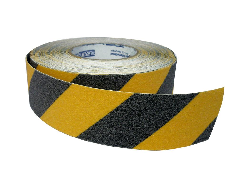 50mm Anti-Slip Tape 18 metres BLACK/YELLOW