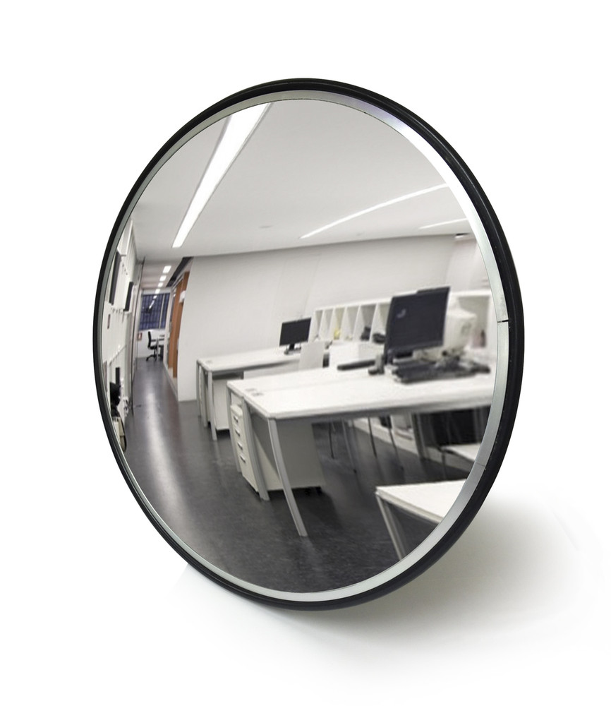 Convex Mirror 450mm INDOOR polycarbonate face includes wall bracket
