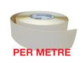 50mm Anti-Slip Tape CLEAR (opaque) - PER METRE