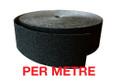 60mm Carbide Nosing Tape BLACK - PER METRE