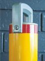 Sleeve-lok 90mm dia. removable bollard Galv & P/Coat finish (no padlock)