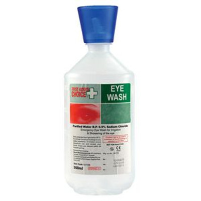 Eyewash & Irrigation Solution 500ml Bottle