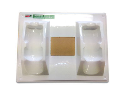 Eye Wash Wall Plate to suit 500ml