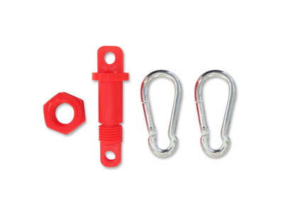 T-Top Eye nut & bolt EACH c/w 2 clips