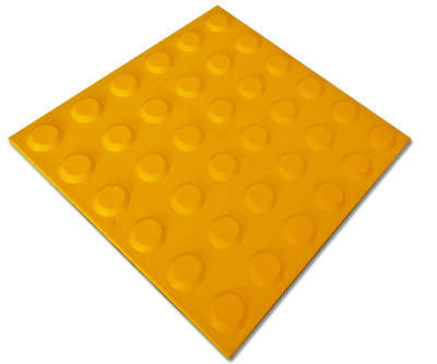 Tactile 300x300 Self Adhesive Polyurethane YELLOW
