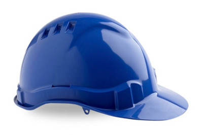 Hard Hat (V6) VENTED 6 Point PROLOCK Harness BLUE