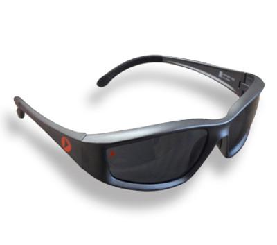 NIGHTHAWK Smoke Lens Grey Frame GLASSES