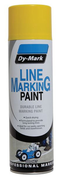 Line Marking Paint DYMARK -YELLOW 500g