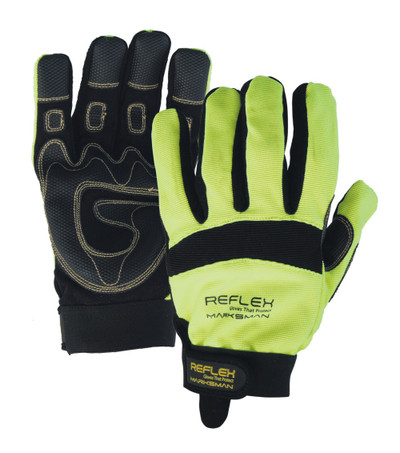 Marksman Glove HI-VIS - MEDIUM - Touchscreen