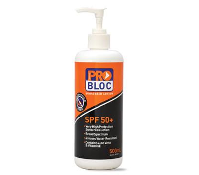 SPF 50+ Sunscreen 500ml Pump Bottle