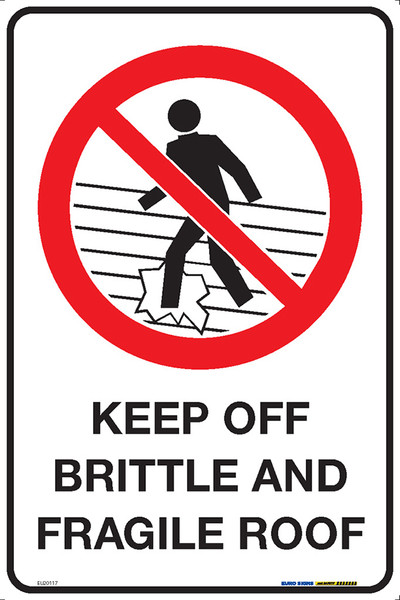 KEEP OFF BRITTLE & FRAGILE ROOF (+PIC) 300x450 MTL