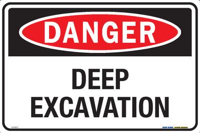 DANGER DEEP EXCAVATION 450x300 MTL