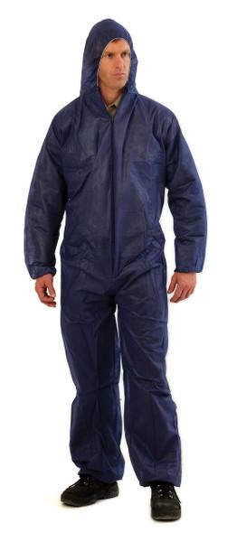 Disposable PP (polypropylene) Coverall BLUE XL