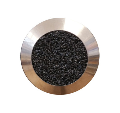 Stainless Tactile Stud BLACK GRIT - SPIGOT 6x12mm
