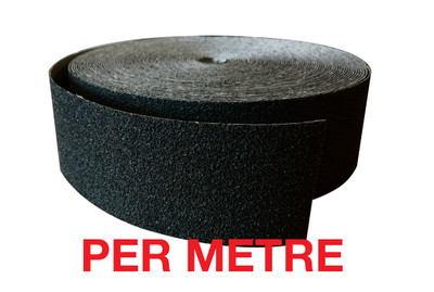 60mm Carbide Nosing Tape BLACK - PER METRE